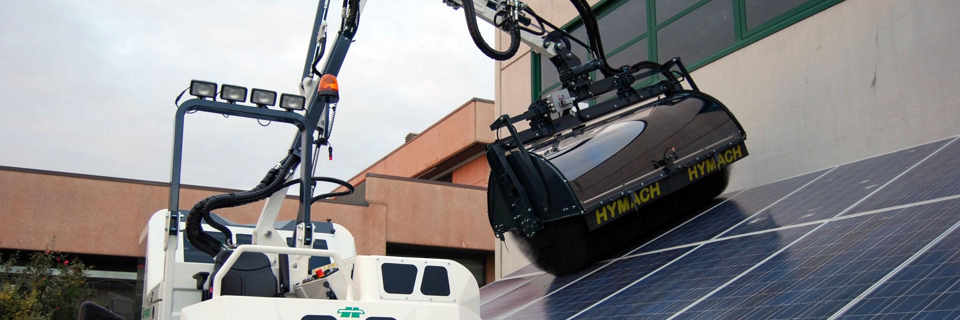 Pulitrici pannelli solari